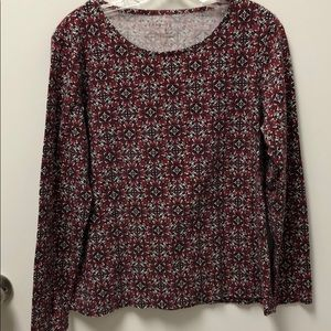 Talbots ladies L/S shirt with a little stretch